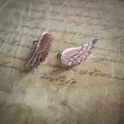 skrzydła B01 – miedziane kolczyki sztyfty – krupkowska.com